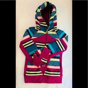 Ivivva Zip Up Hoodie/Sweater Scuba Girls